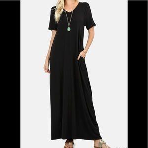 815e4bc69e4 Zenana Premium. V-Neck Maxi Dress